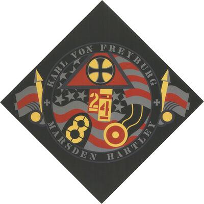 Robert Indiana, 'The Hartley Elegies KvF VII', 1991