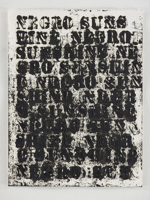 Glenn Ligon, 'Study for Negro Sunshine 2011.1', 2011