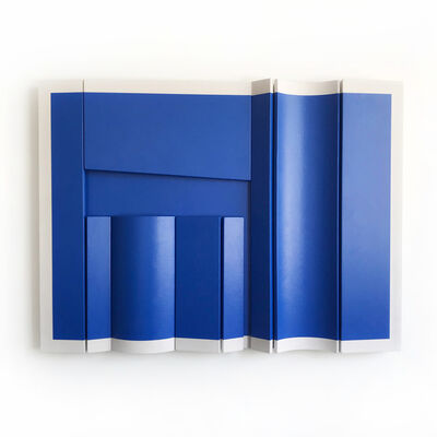 Robert William Moreland, 'Untitled Blue Rectangle', 2018