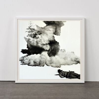 John Baldessari, 'Smoke, Tree, Shadow and Person', 2011