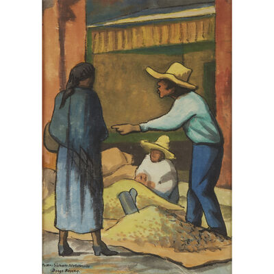 Diego Rivera, 'The Merchant'