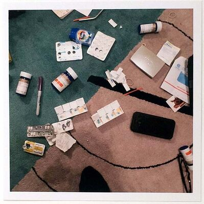 Nan Goldin, 'Drugs on the Rug, New York City, USA', 2018