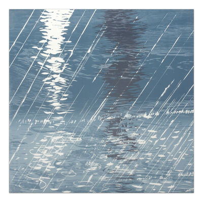 Michael Mazur, 'Rain on Water', 2009