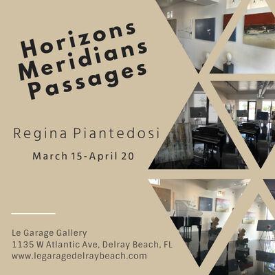 Horizons-Meridians-Passages, installation view