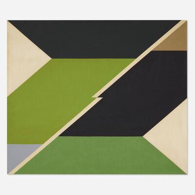 Larry Zox, 'Diagonal II', 1966