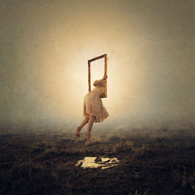 Brooke Shaden, 'Reflection #3: Departed',