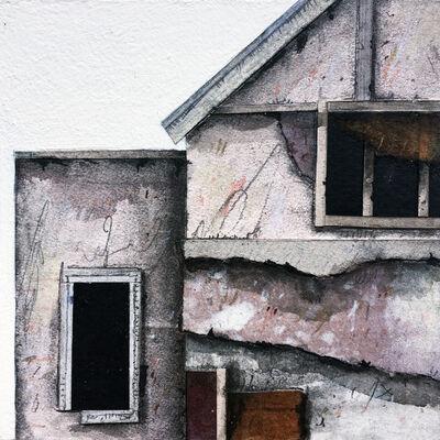 Seth Clark, 'Roof Top Blocks (in purple hues) no. 8', 2017