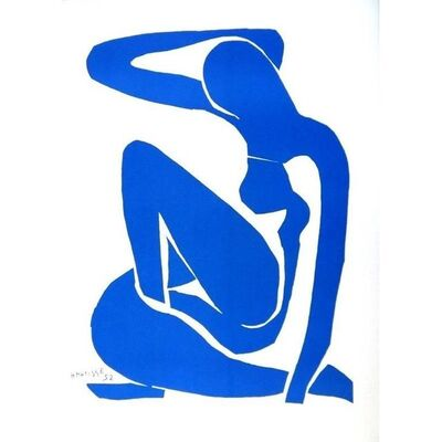 "Henri Matisse, 'Lithograph ""Blue Nude"" after Henri Matisse', 1952"