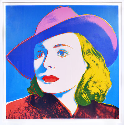 Andy Warhol, 'Ingrid Bergman: With Hat', 1983