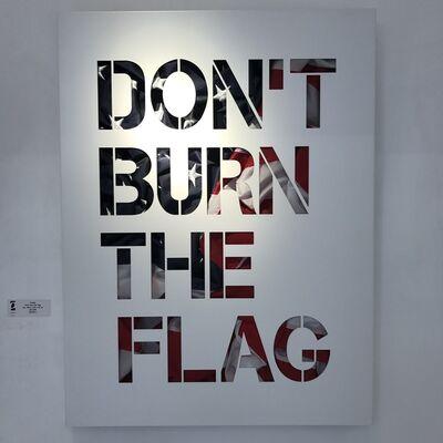 JOSEPH (b. 1961), 'Don't Burn the Flag', 2016