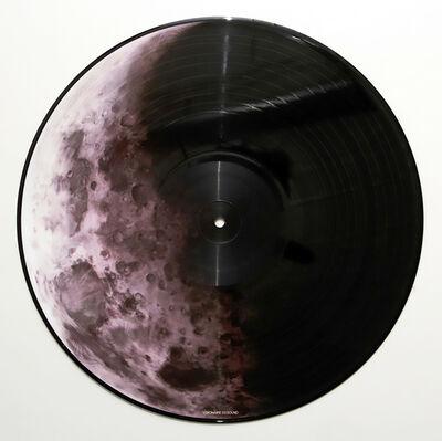 Robert Longo, 'Robert Longo vinyl record art (Robert Longo moon) ', 2007