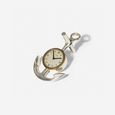 Hermès, 'desk clock', c. 1955