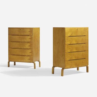 Alvar Aalto, 'Cabinets, Pair', c. 1946