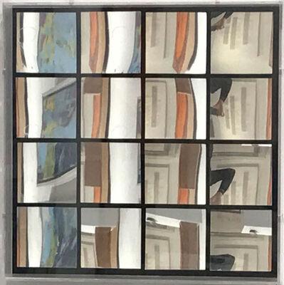 Adolf Luther, 'Spiegelobjekt 4x4 eckige Konkav-Spiegel', 1969