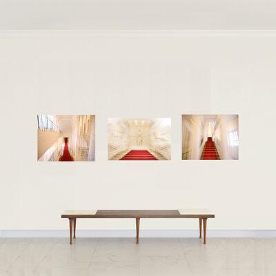 Magda Von Hanau, 'Belvedere Winter Palace Triptych', 2016