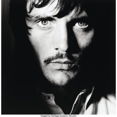 "Terence Donovan, 'Terence Stamp on the set of John Schlesinger's 'Far from the Madding Crowd""', 1967"
