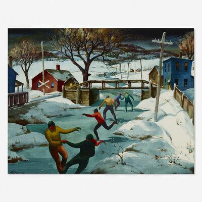 Henry Martin Gasser, 'December Skaters'