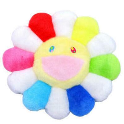Takashi Murakami, 'Rainbow Flower Plush Pillow', 2107