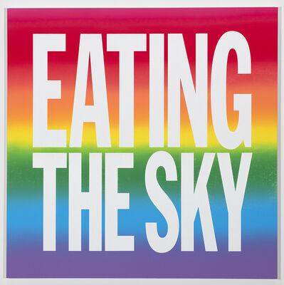 John Giorno, 'EATING THE SKY', 2019