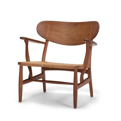 Hans Jørgensen Wegner, 'CH22 easy chair', 1950