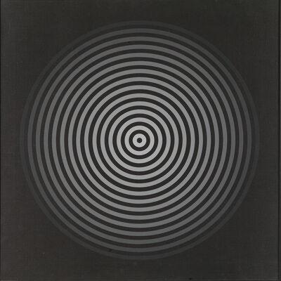 Marina Apollonio, 'Gradazione 15N nero bianco su nero', 1966-72
