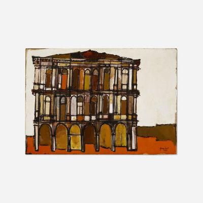 Guiseppe Gambino, 'Palazzo in Venezia', 1959