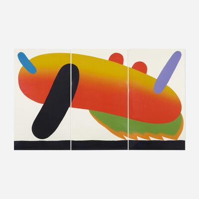 Sadamasa Motonaga, 'Untitled (Triptych)', c. 1982