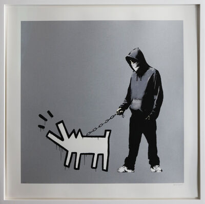 Banksy, 'Choose Your Weapon (Silver) signed', 2010