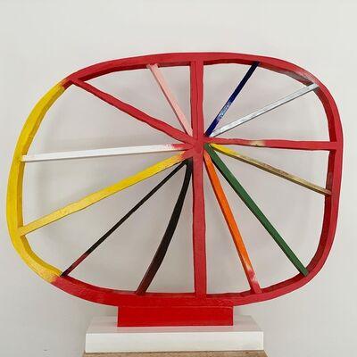 Damien Hoar de Galvan, 'Wobbly Wheel', 2020