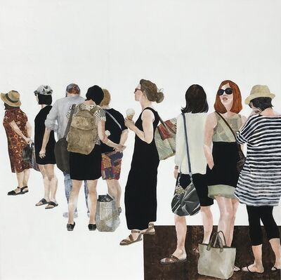Beverley Hawksley, 'Time in a Queue', 2019