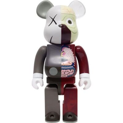BE@RBRICK, 'KAWS DISSECTED BROWN  400%', 2010