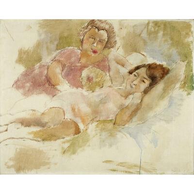 Jules Pascin, 'Les Deux Amis', 1928