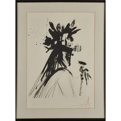 Salvador Dalí, 'Lithograph on BFK Rives, Dante', 1964