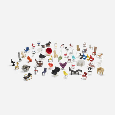 Vitra, 'collection of forty-nine miniatures'