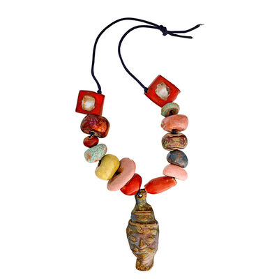 Beatrice Wood, 'Rare Necklace, Ojai, CA'