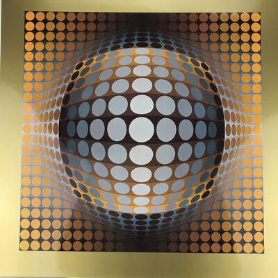 Victor Vasarely, 'VEGA-ZETT-2', 1974