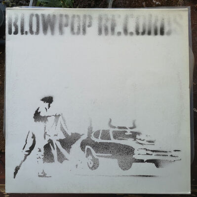 Banksy, 'Blowpop Records - Hand-Painted Record Sleeve', 1999