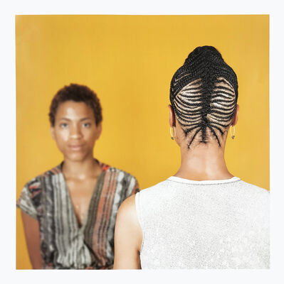 Sonya Clark, 'Hair Craft Project with Kamala', 2014
