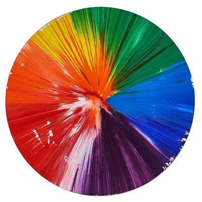 Damien Hirst, 'Circle Spin Painting (Created at  Damien Hirst Spin Workshop)', 2009