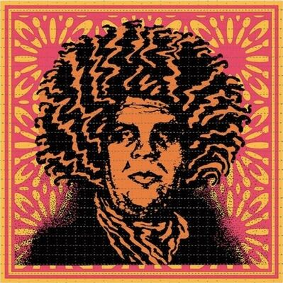 Shepard Fairey (OBEY), 'Psychedelic Andre (Endless Summe variant) ', 2020