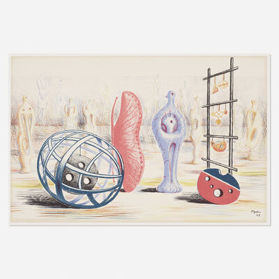 Henry Moore, 'Sculptural Objects', 1949
