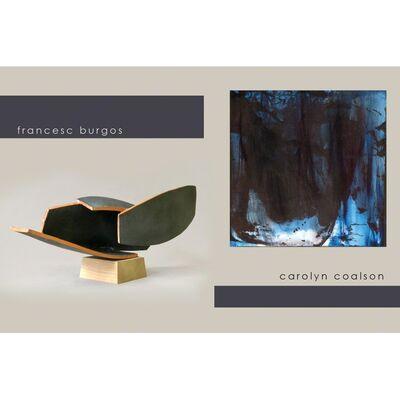 Carolyn Coalson, Francesc Burgos & Waldo Midgley, installation view