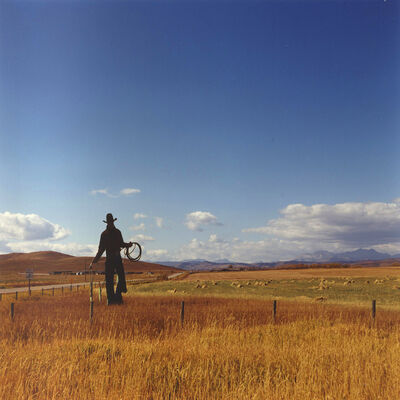 Dianne Bos, 'Cowboy, Bar U Ranch (Front View)', 2012
