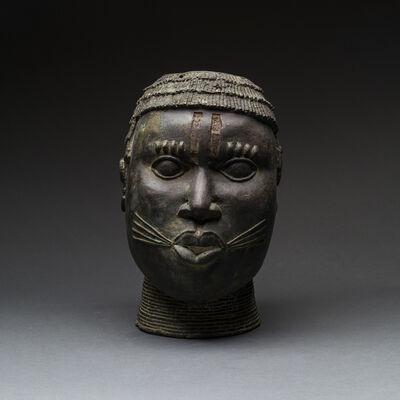 Unknown Benin, 'Benin Bronze Head', 1850 AD to 1900 AD