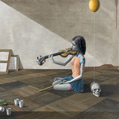 Gino Rubert, 'The violinist', 2014