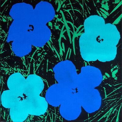 Logan Hicks, 'Poppies IV - Homage to Warhol ', 2019