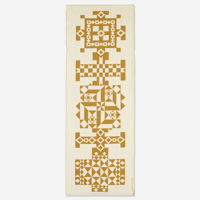 Alexander Girard, 'Crosses Environmental Enrichment Panel', 1971