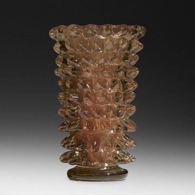 Ercole Barovier, 'Rostrato vase', 1938