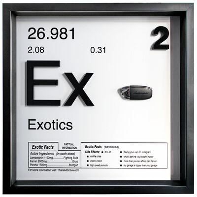 Daniel Cohen, 'Exotics (Ex - 2 / Lamborghini) ', 2019