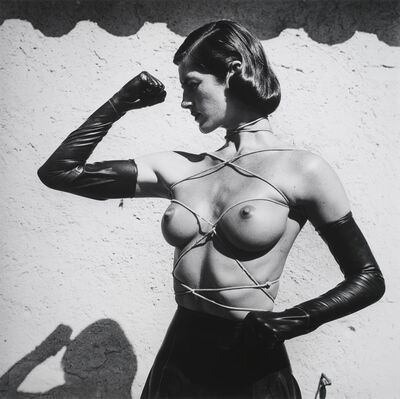 Helmut Newton, 'Tied up Torso, Ramatuelle', 1980